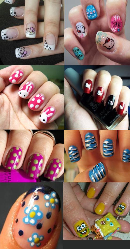 15 Short Nail Designs For Teenagers Images