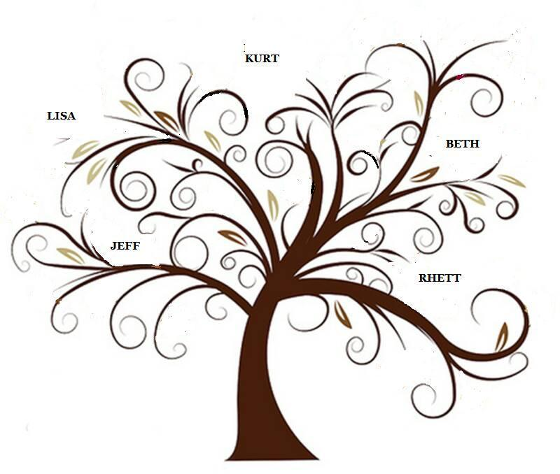 19 Tree Vector Clip Art Images
