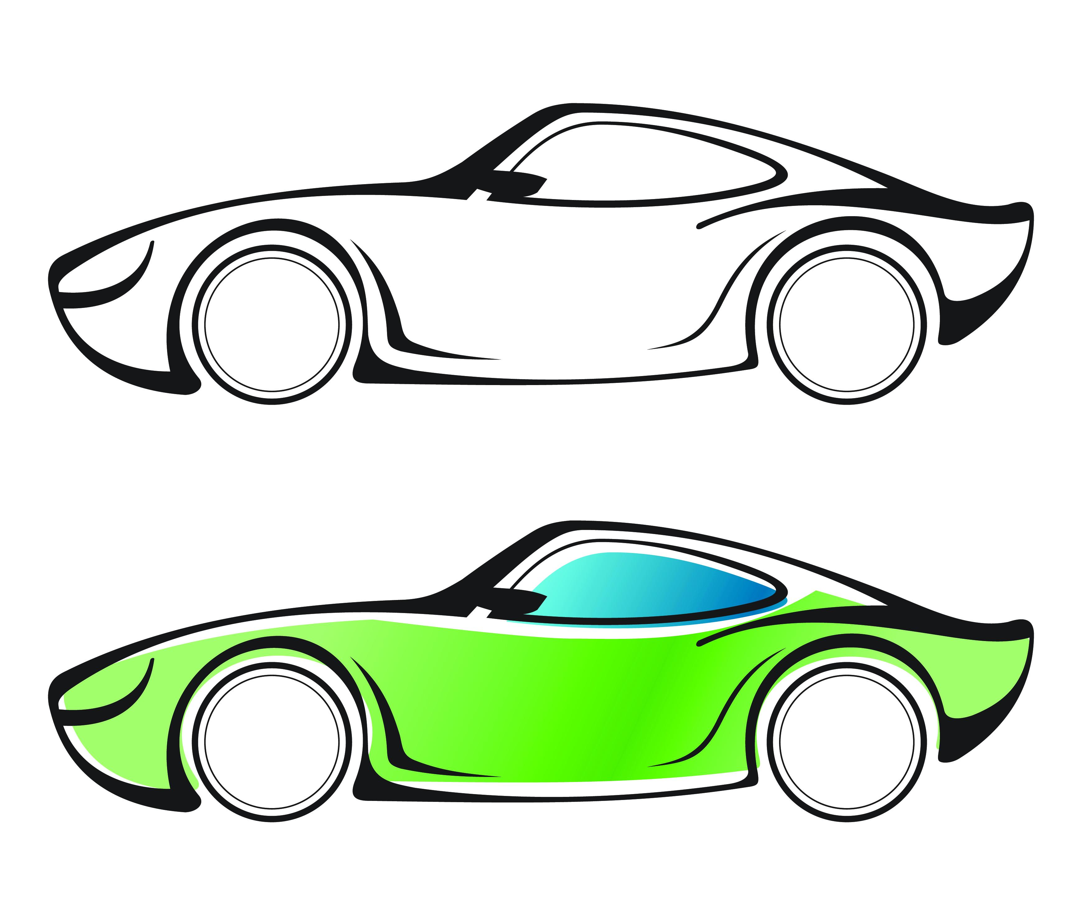 Vector Car Graphics