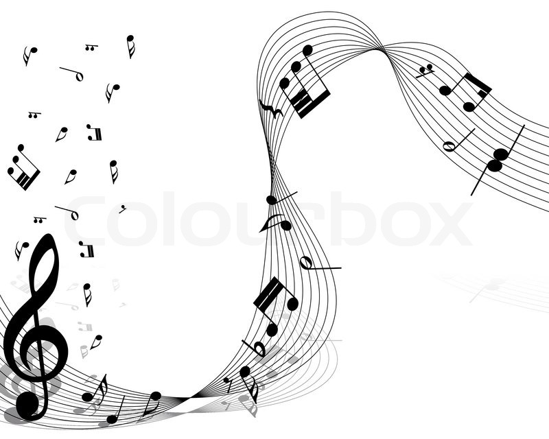 Vector Music Notes Designs