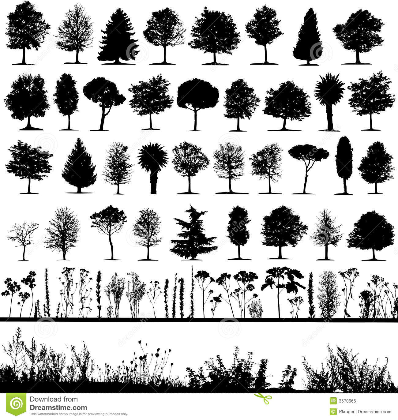 Vector Trees Plan View