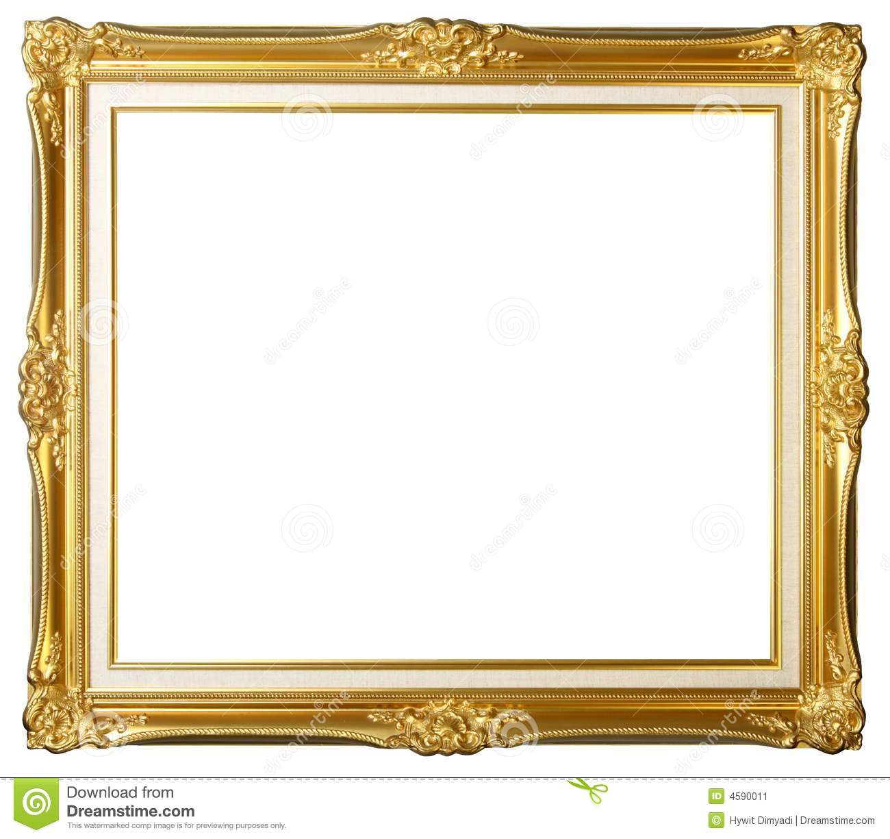 Vintage Antique Gold Frames