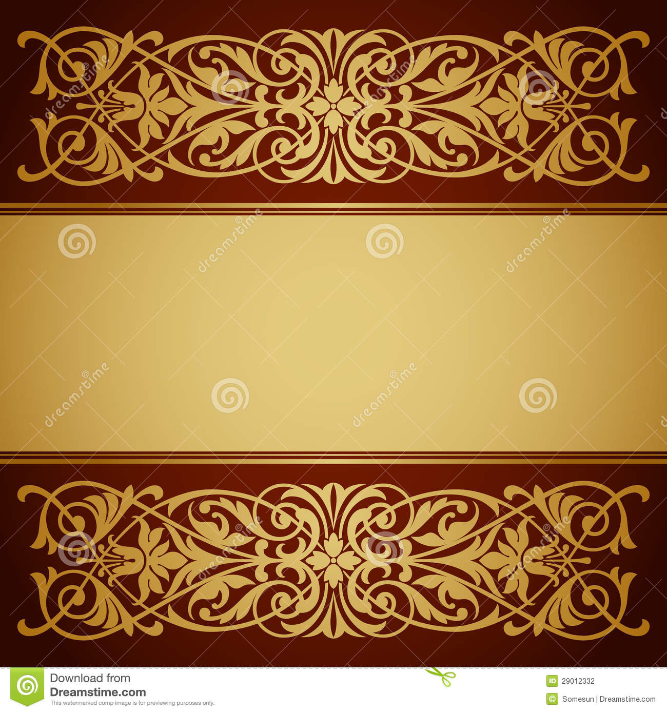 Vintage Gold Borders and Frames