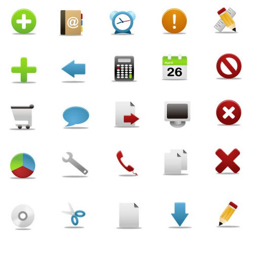 11 IPhone Icon Package Images