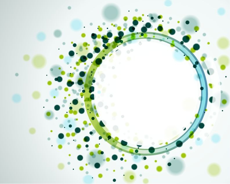20 Abstract Circles Background Vector Images