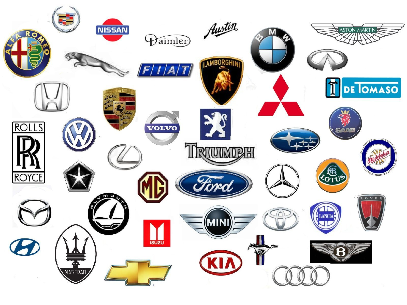 10 Auto Emblems Icons Images All Car Logos And Names All Car