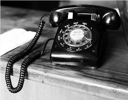 14 Rotary Phone Icon Black And White Images
