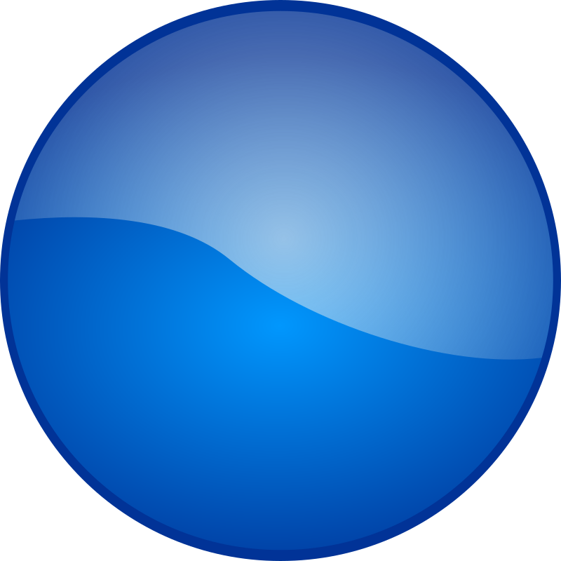Blue People Icon Clip Art