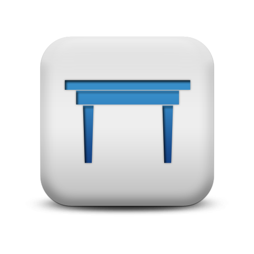 Blue Simple People Icon