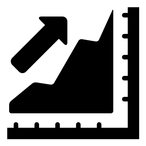 Business Progress Arrow Icon