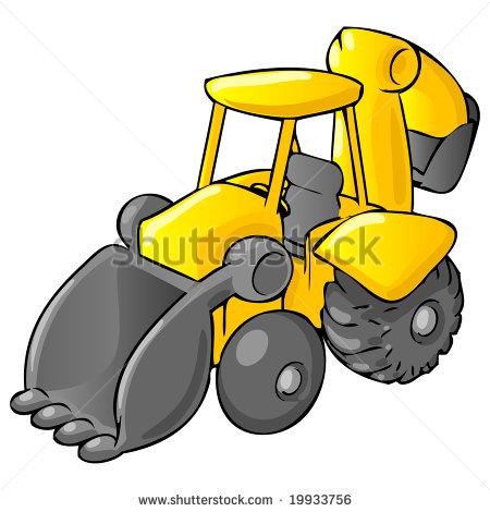 Cartoon Construction Equipment Clip Art