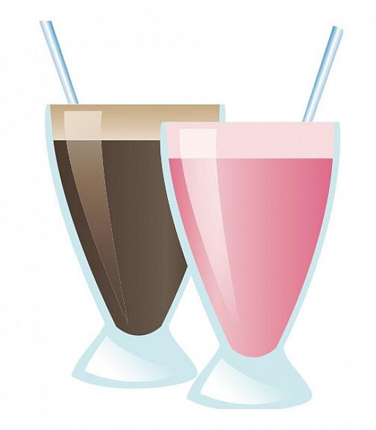 11 Free Vector Milkshake Images
