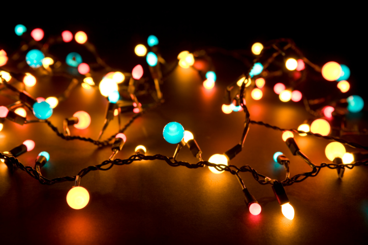 13 Christmas Lights Photography Images