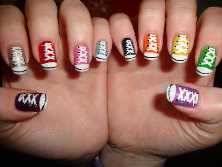 16 Cool Easy Nail Design Ideas Images Cool Nail Design Ideas Cool