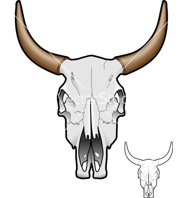 19 Cow Skull Vector Images