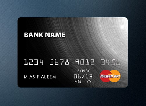13 Credit Card PSD Template Images
