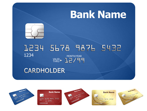 Credit Card Template Photoshop