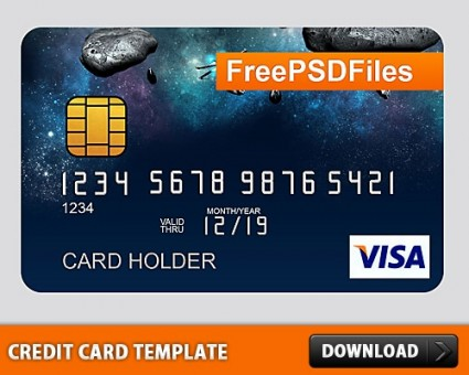 Credit Card Templates Free