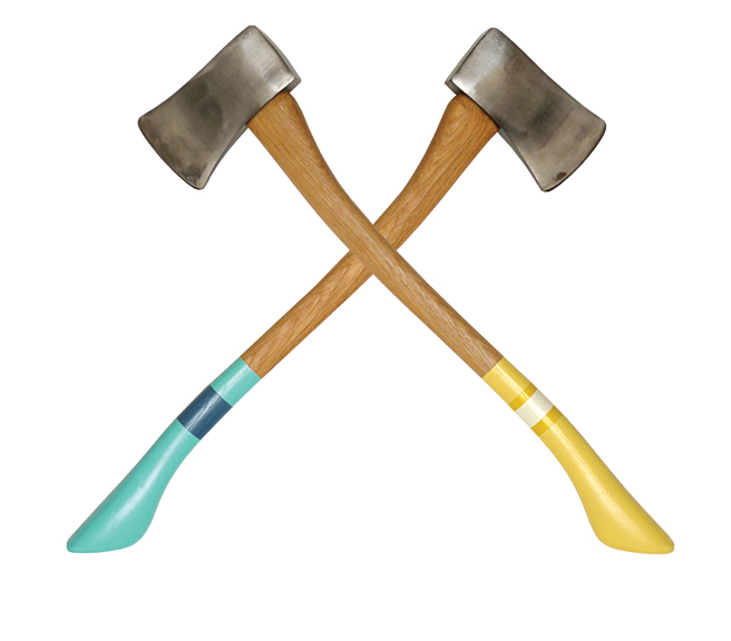 Crossed Axes Design