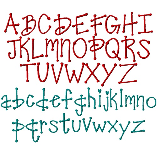 15 Pretty Fonts Alphabet Images