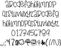 15 Pretty Fonts Alphabet Images