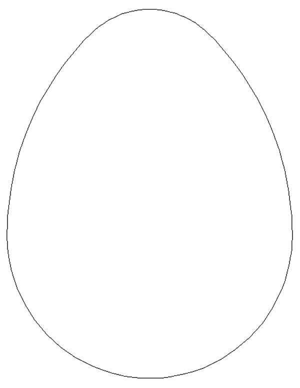 graphic regarding Egg Template Printable titled 12 Totally free Easter Egg Template Photos - Easter Egg Template