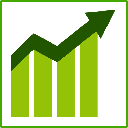 12 Growth Icon Vector Images