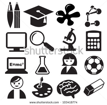 Education Icon Vector Art