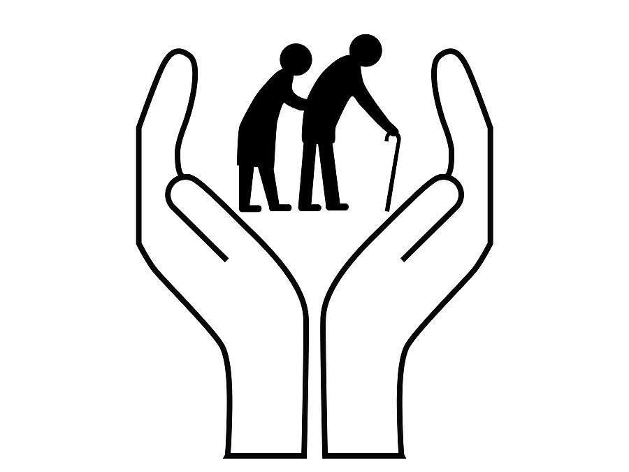Elderly Care Clip Art