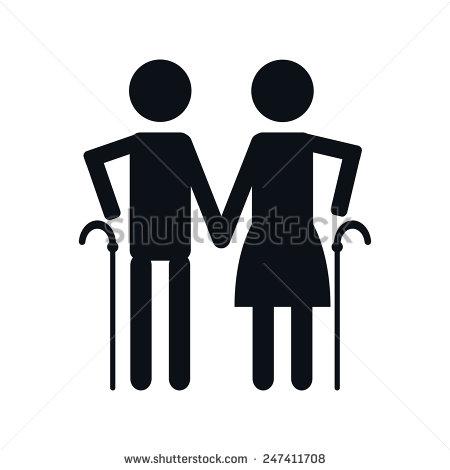 Elderly People and Symbols