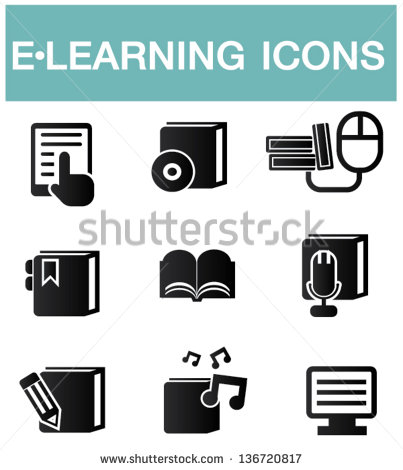 eLearning Vector Icon