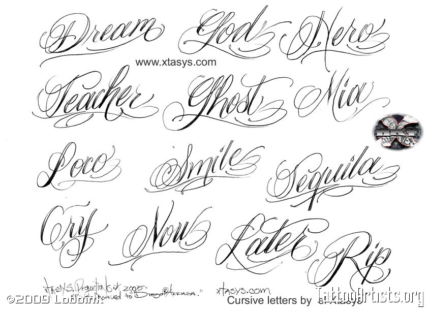 7 Old English Cursive Fonts Images