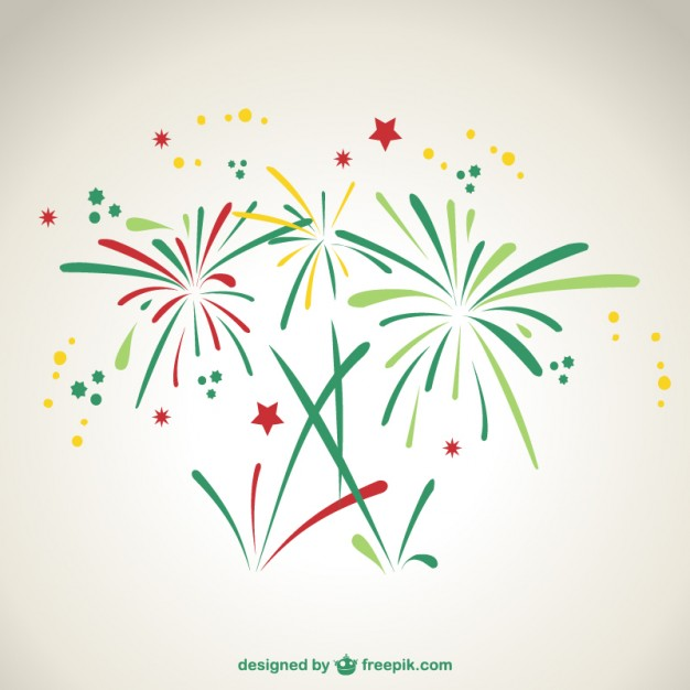 15 Fireworks Vector Graphics Images