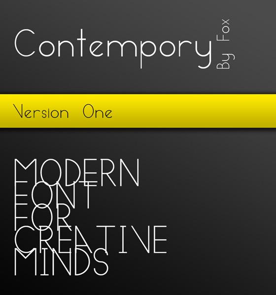 Fonts Free Modern Logos