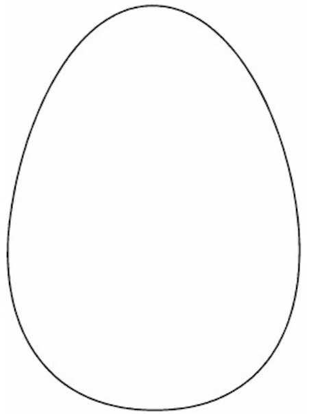 Free Printable Easter Egg Pattern Template