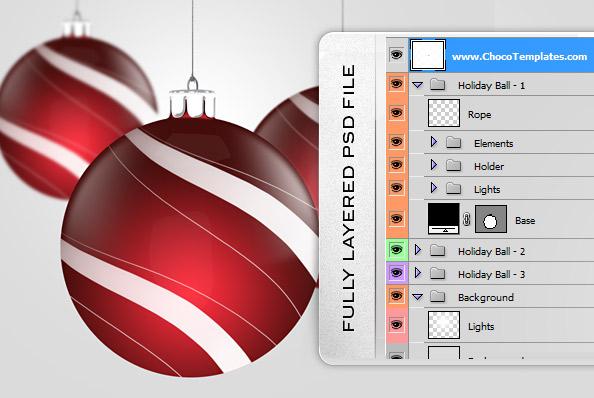 Free Psd Christmas Graphics
