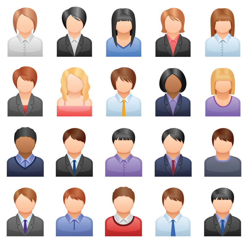 11 Free Vector Business People Images