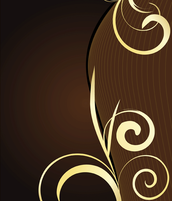 16 Blue And Brown Vector Swirl Backgrounds Images