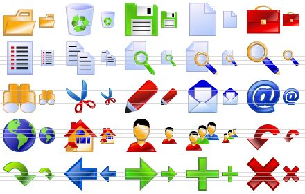16 Standard Web App Icons Images
