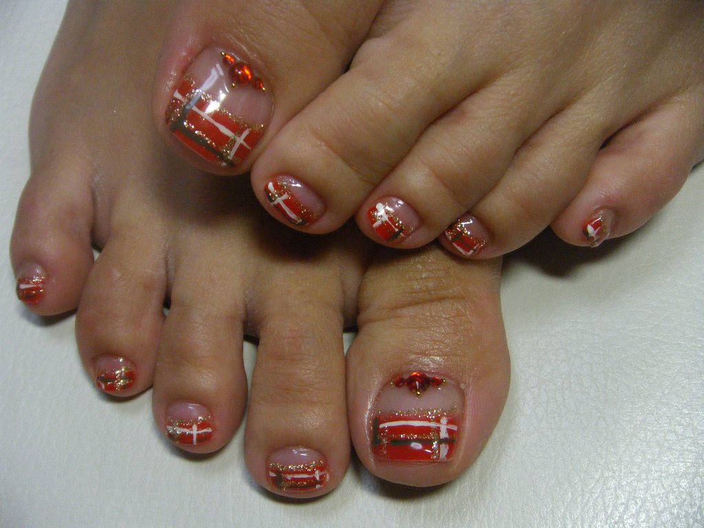 14 French Pedicure Designs Images