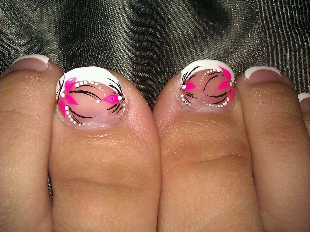 French Toe Nail Designs | Olivero