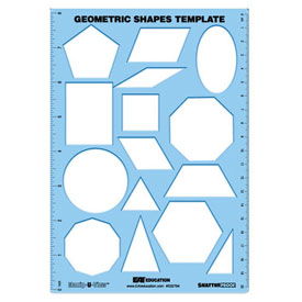 12 Geometric Shape Templates Images