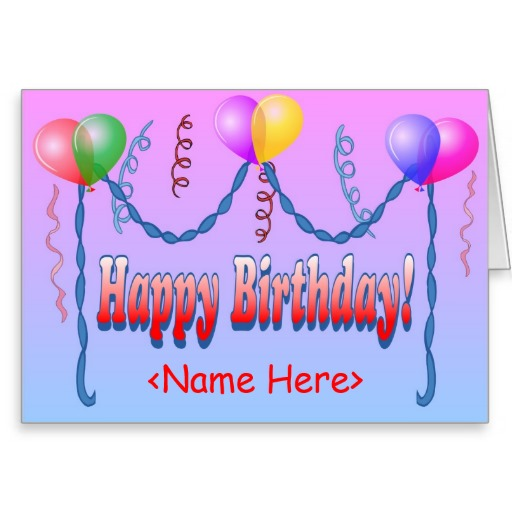 14 Happy Birthday Card Template Publisher Images