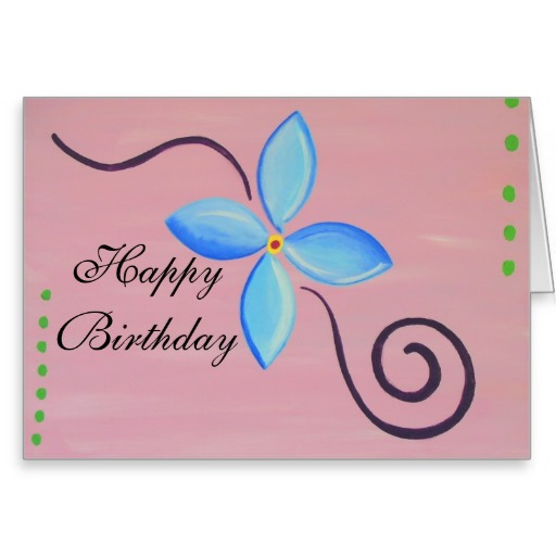 birthday card publisher template