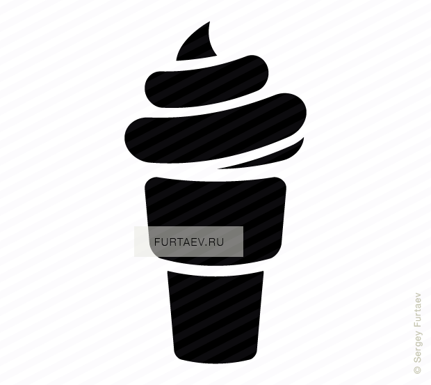 Ice Cream Vector Icons