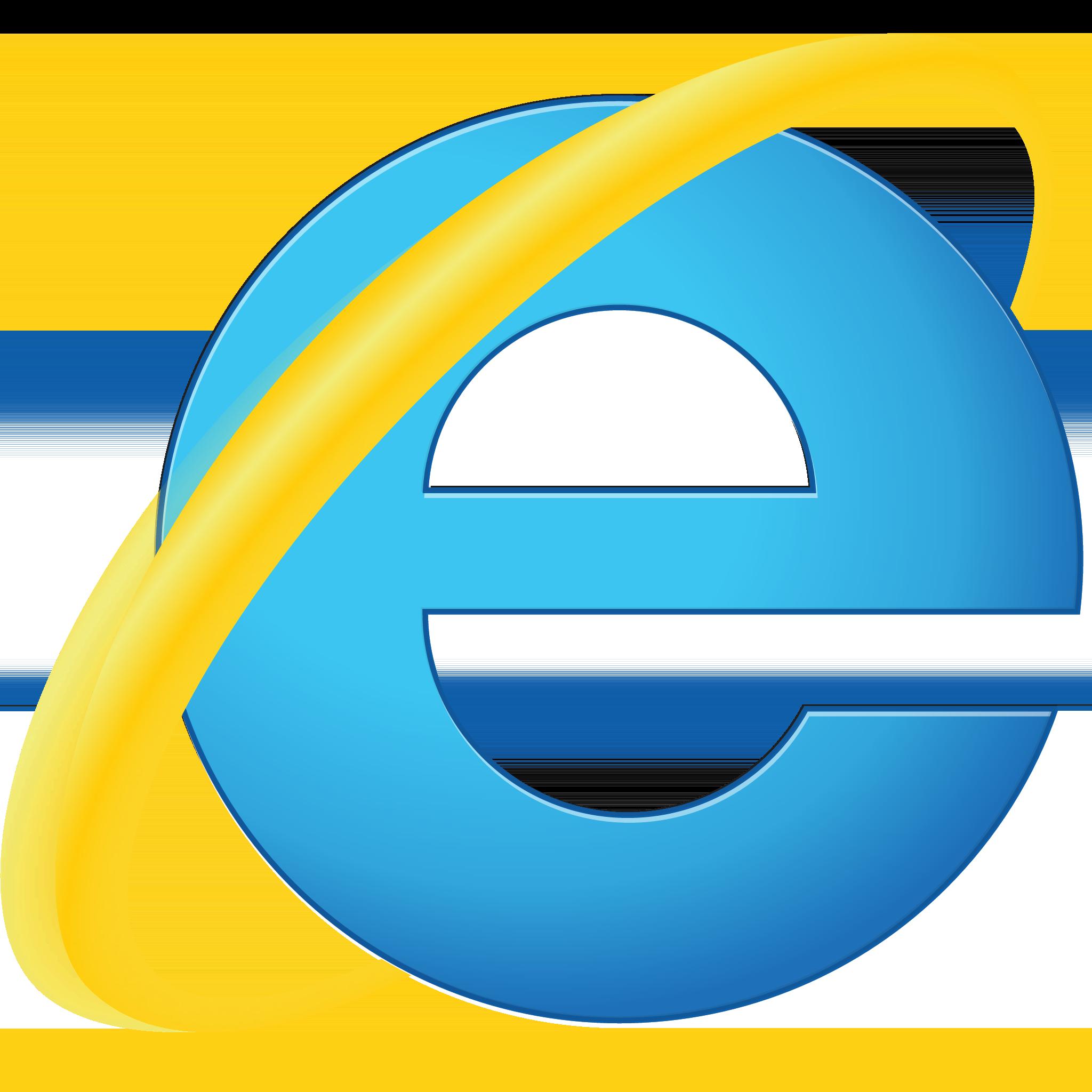 Internet Explorer Transparent Logo
