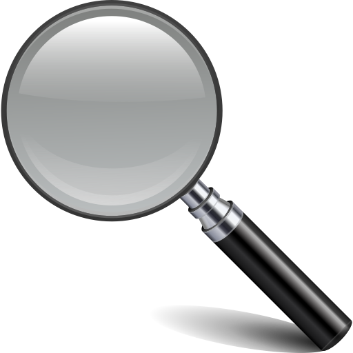 13 Apple Search Magnifying Glass Icon Images