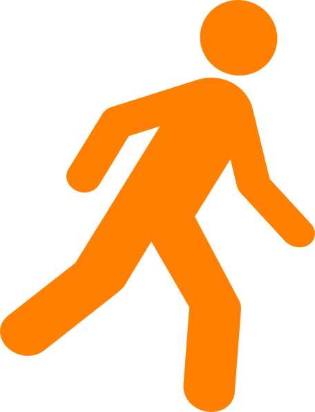 Man Walking Clip Art