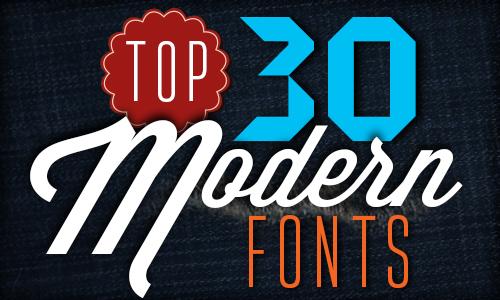 Modern Fonts