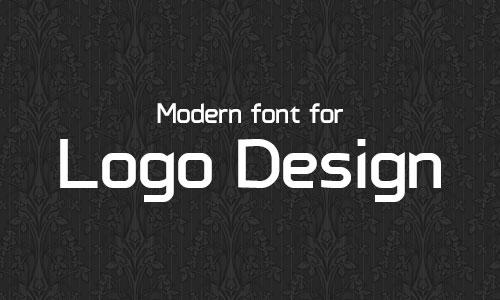 14 Modern Logo Fonts Images